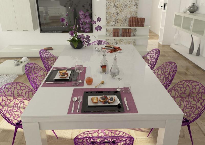 tavolo biliardo italia quattro laccato bianco tavolo da pranzo