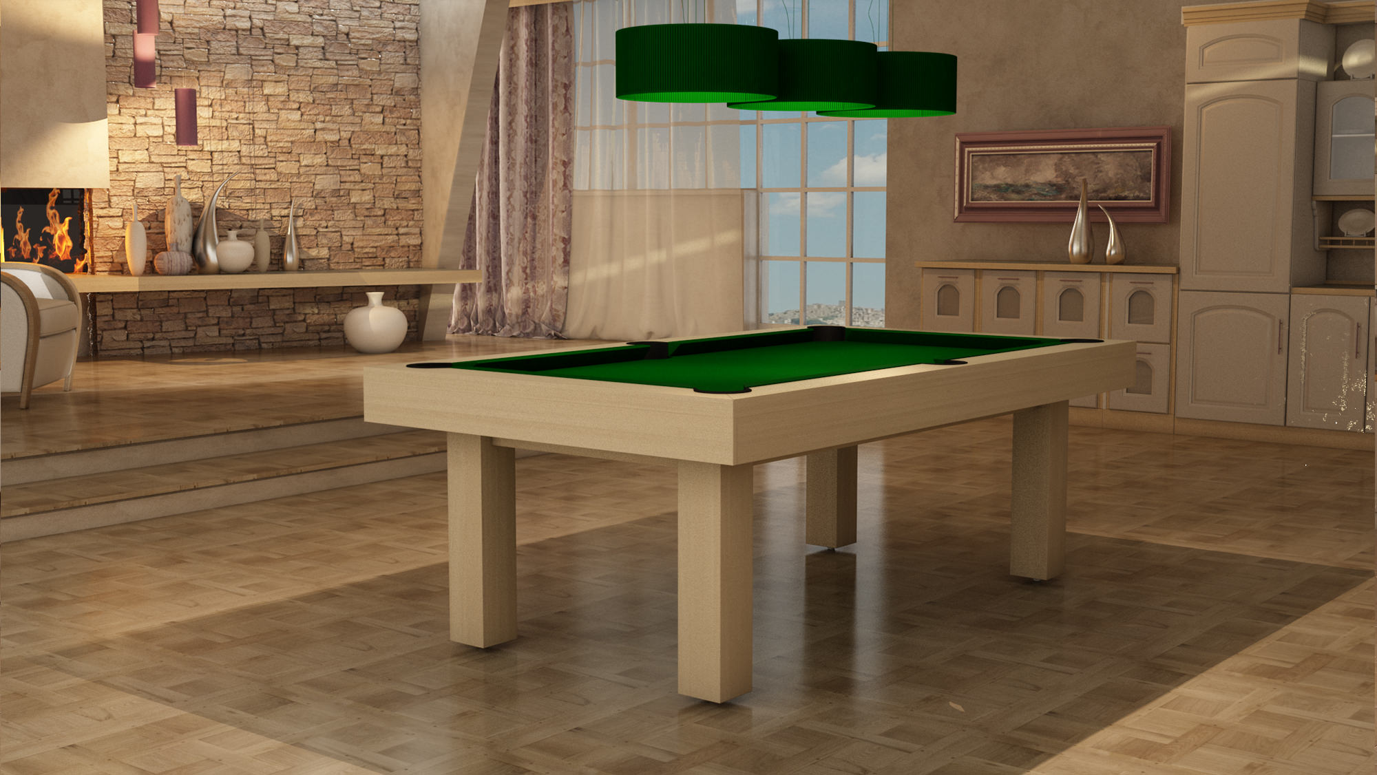 Billiard Table Italia Due